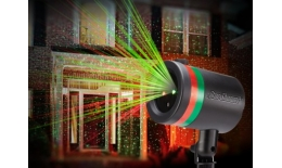 Lézer lámpa - éjszakai égbolt projektor Star Shower