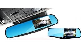 Tükörbe integrált dupla Autós kamera HD