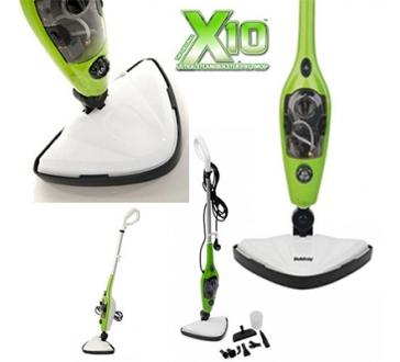 10 az 1-ben Gőztisztító X10 - praktikus és hatékony gőztisztító