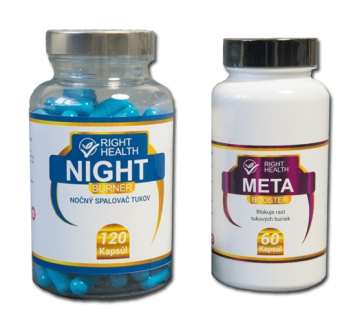 META BOOSTER + NIGHT BURNER fogyokuras étrend kiegészító