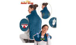 Elektromos fűtő takaró a nyak, a vállak és a hát számára