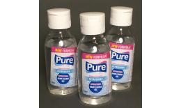 Antibakteriális fertőtlenítő kézgél Pure, 100 ml