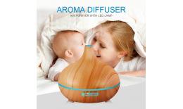Univerzális aromaterápiás difúzzor - Levegőionizátor távirányítóval