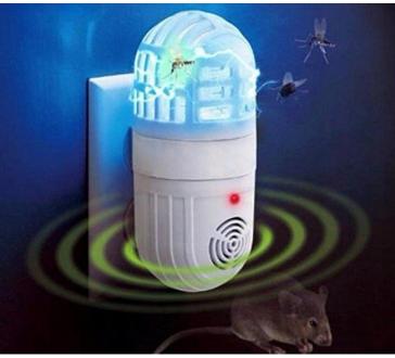 2in1 elektromos szúnyogirtó és kártevő riasztó